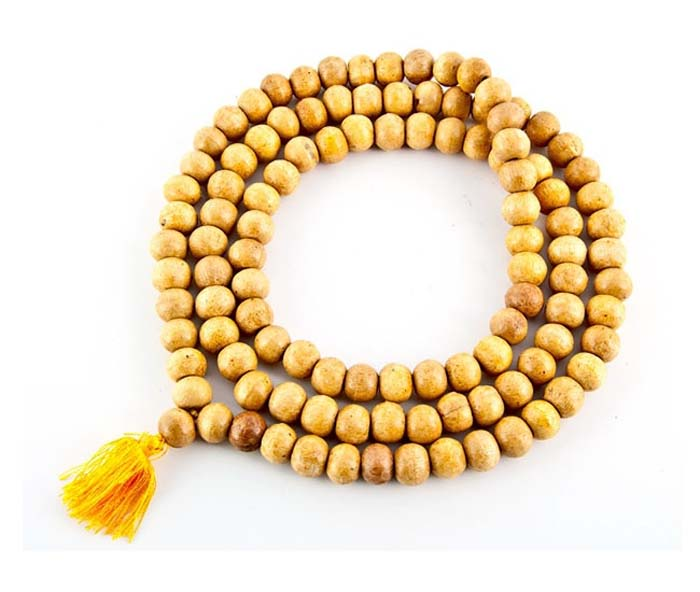 Wooden Prayer Mala (Without Knot) - 10mm