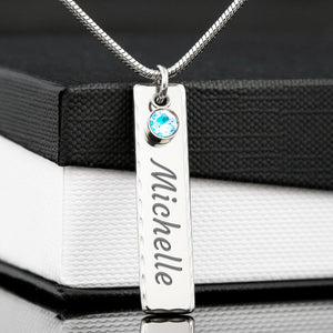 Customizable Pendant - Her (His) Name Engraved