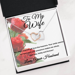 To My Wife - Two Hearts - Gift From Heavens