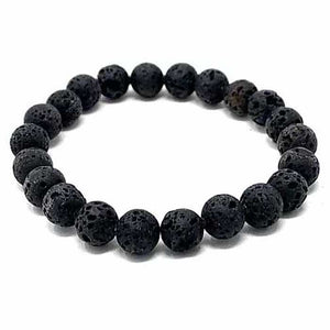 Essential Oil Lava Stone Bracelet 8mm