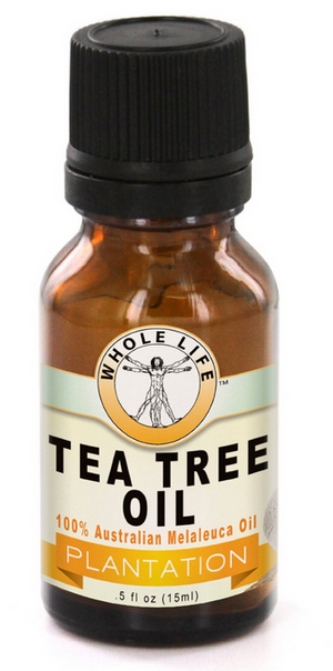 Whole Life Pure Tea Tree Oil, 100% Australian - 15ml