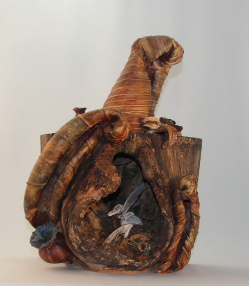 """Awaiting Redemption"" Pottery Sculpture (Stoneware) - CreativeCollection"