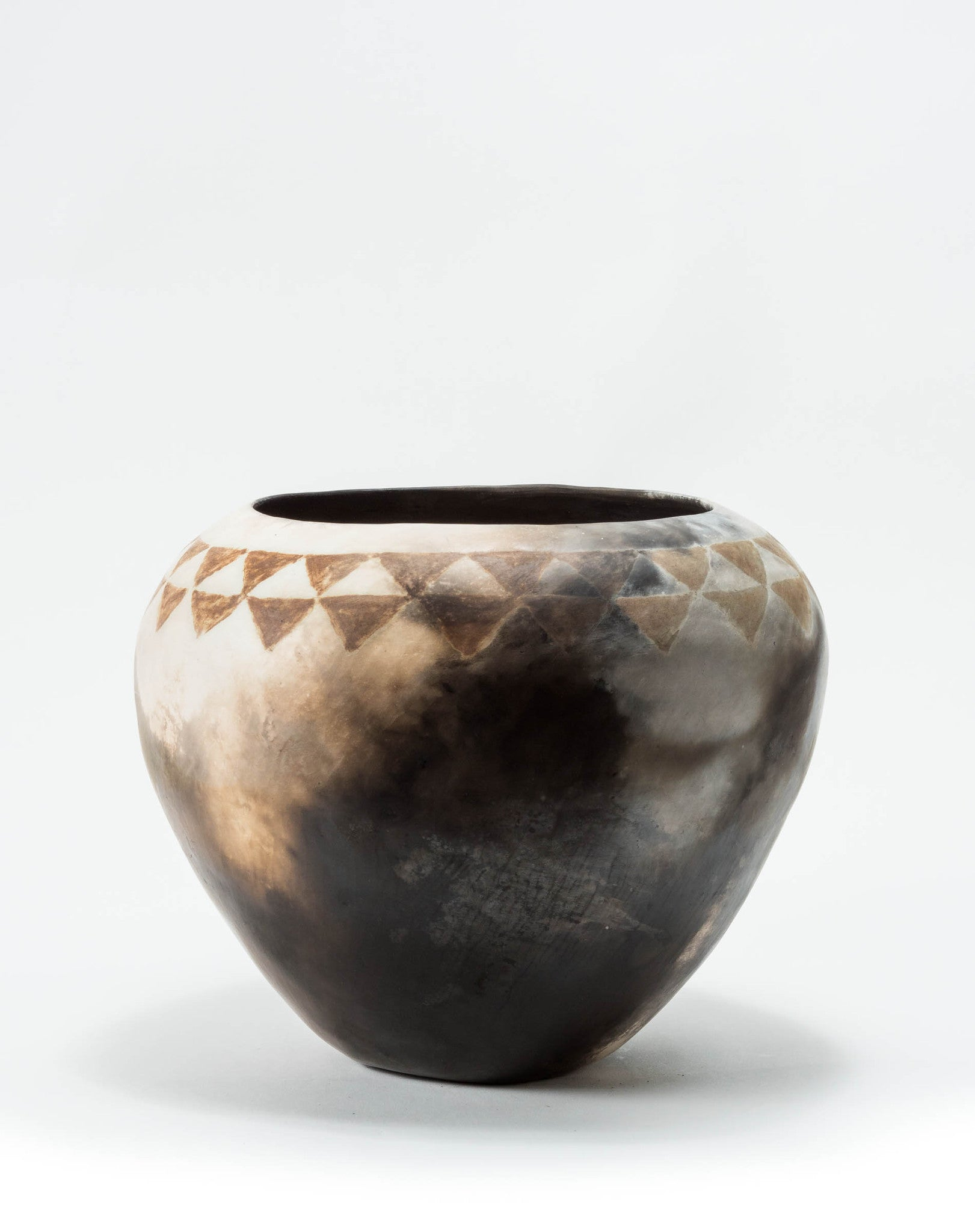 """Harlequin"" Pottery Vase - CreativeCollection"