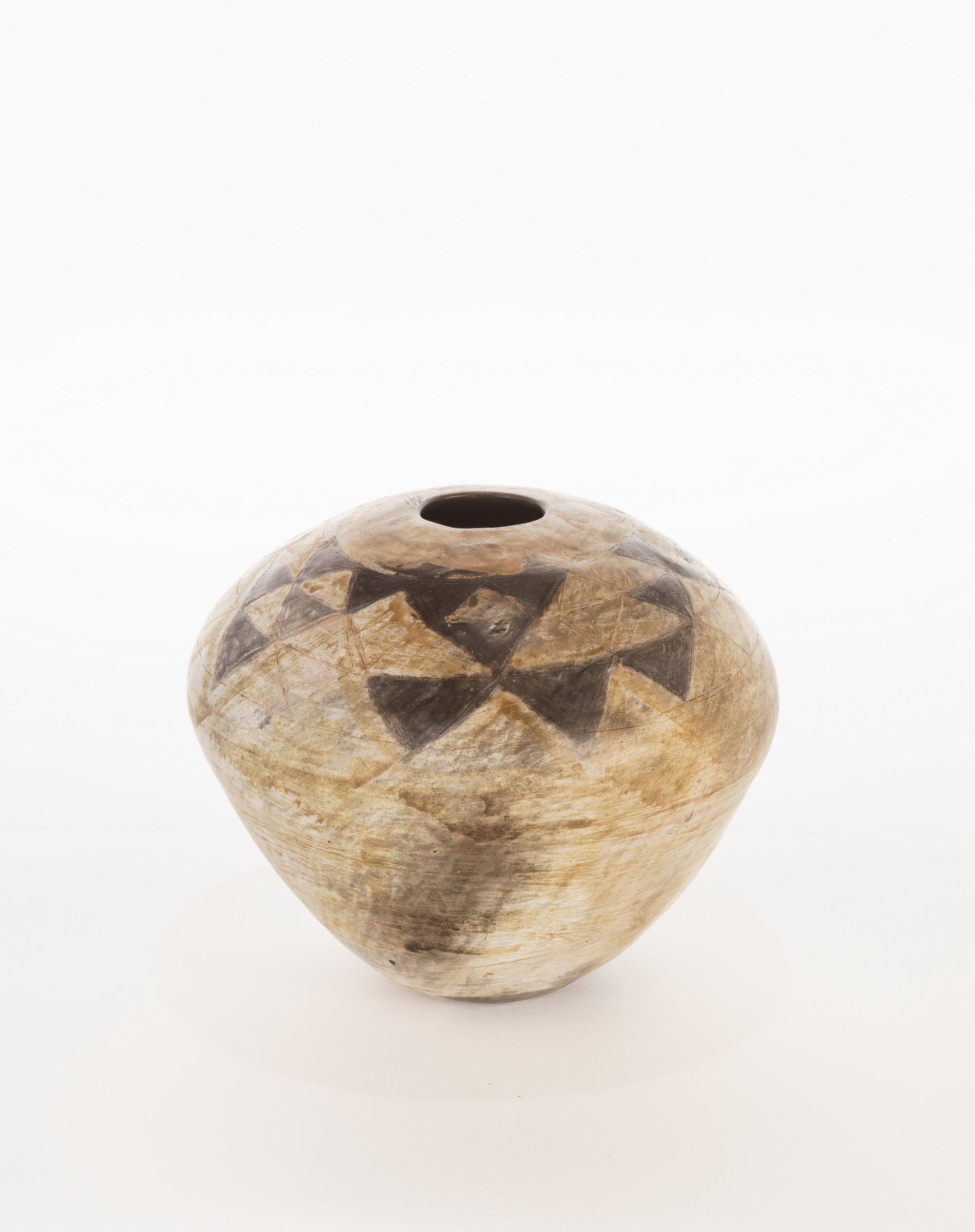 """Triangles"" - Pottery Vase - CreativeCollection"