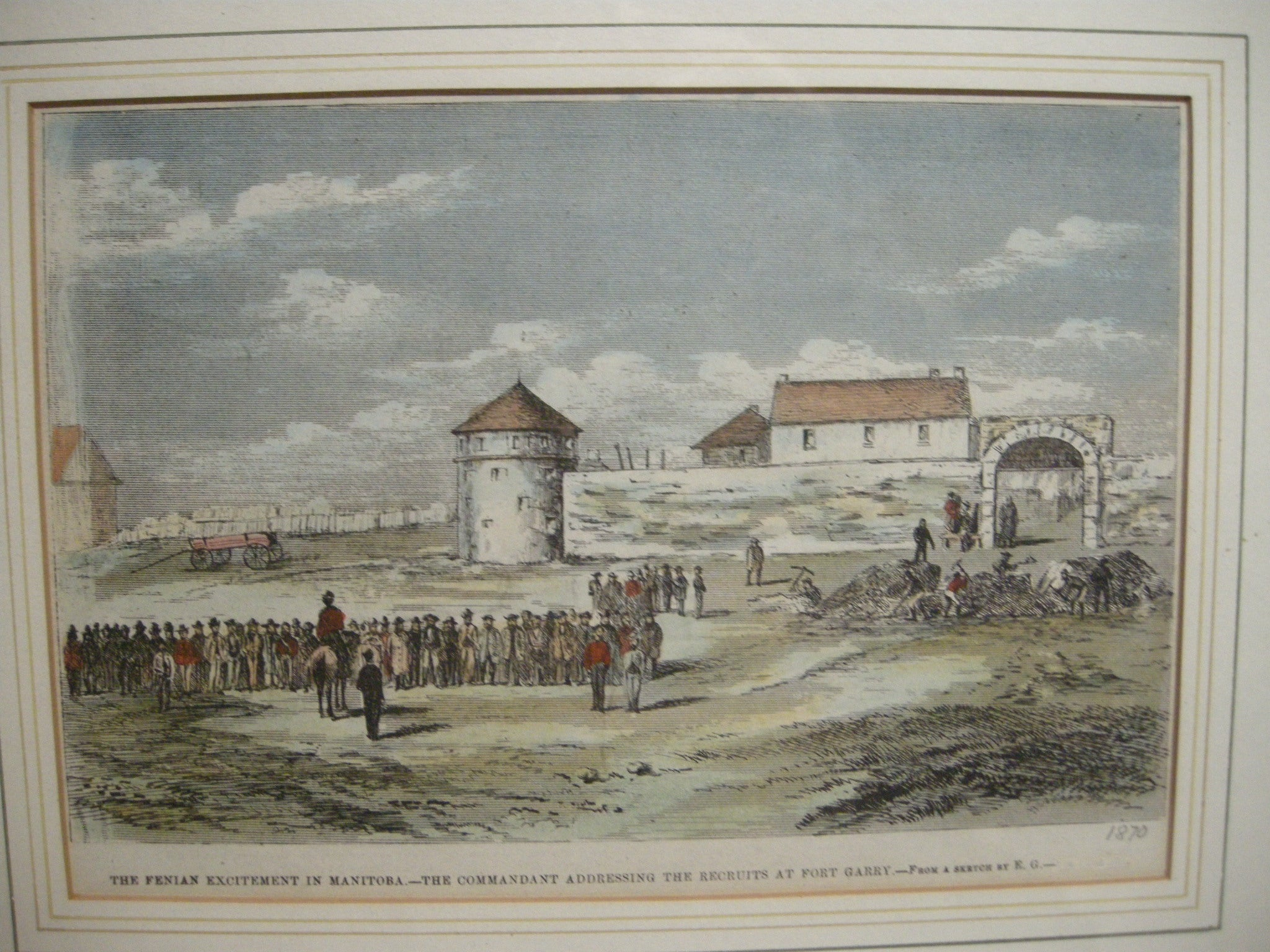 Fenian Excitement and Recruits At Fort Garry - CreativeCollection