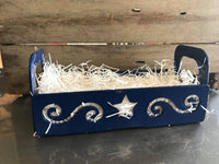 Metal Gift Basket