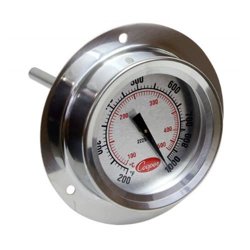 Cooper Atkins 2225-20 Flange Mount Pizza Oven Thermometer