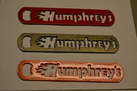Handheld Bottle Opener - Humphreys Smokers