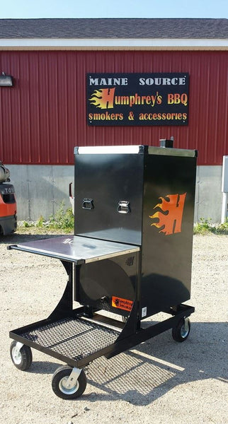 Battle Wagon - Smoker Cart - Humphreys Smokers