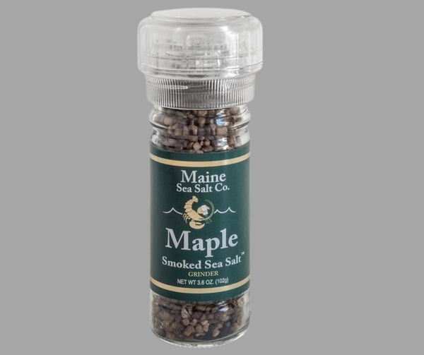 Maine Sea Salt Co.- Maple Smoked Sea Salt