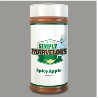Simply Marvelous BBQ Rub Spicy Apply- 12.5oz - Humphreys Smokers