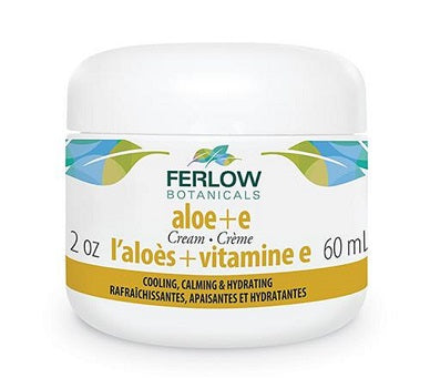 FERLOW BOTANICALS ALOE VITAMIN E CREAM 60 ML