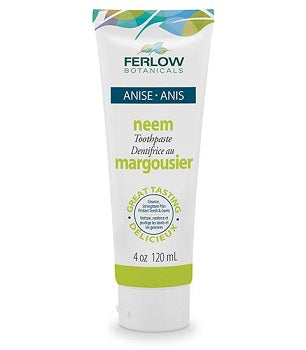 Ferlow Botanicals Neem Toothpaste Anise (licorice) 120 ml