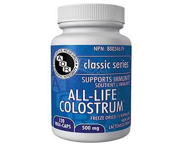 AOR ALL-LIFE COLOSTRUM 500 MG