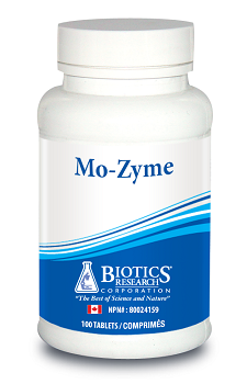 BIOTICS RESEARCH MO-ZYME 100 TABLETS
