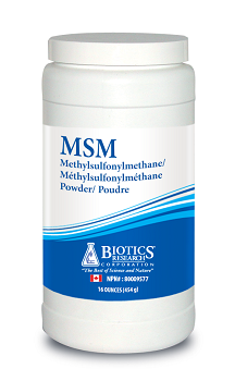 BIOTICS RESEARCH MSM PWDR 16 OUNCES 454 G
