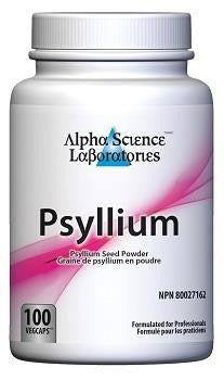 Alpha Science Labs Psyllium Seed 500 mg 100 caps