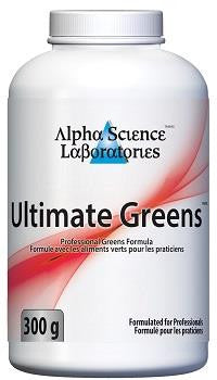 Alpha Science Ultimate Greens 300 gm