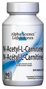 Alpha Science N-Acetyl L-Carnitine 90 caps