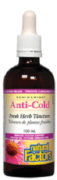 Natural Factors anti-cold fresh herb tincture 100 ml