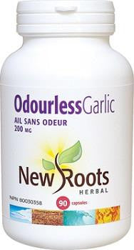 NEW ROOTS HERBAL ODOURLESS GARLIC 90 CAPS