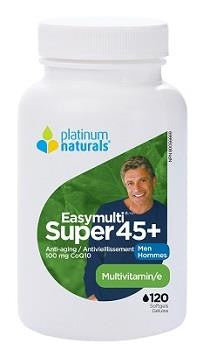 PLATINUM NATURALS SUPER EASYMULTI 45+ MEN 120 softgels