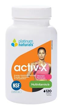 PLATINUM NATURALS  ACTIV-X MULTI FOR WOMEN 120 softgel