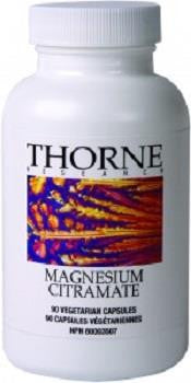 Thorne Research Magnesium Citramate 90 Veg Caps