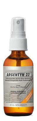ARGENTYN 23 BIO-ACTIVE SILVER HYDROSOL SPRAY 2OZ 59 ML
