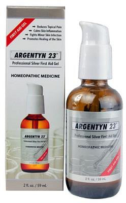 ARGENTYN 23 PROFESSIONAL SILVER FIRST AID GEL 2 FL OZ