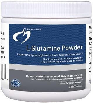 Design for Health L-Glutamine Powder 250 gm