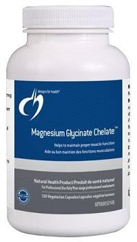 Design for Health Magnesium Glycinate Chelate 150 mg 120 veg caps