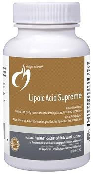 Design for Health Lipoic Acid Supreme 60 Veg caps