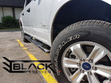 "2015-2018 Ford F150 Super Cab / Exnteded Cab - 5"" SS Oval Step Bars - Running Boards"