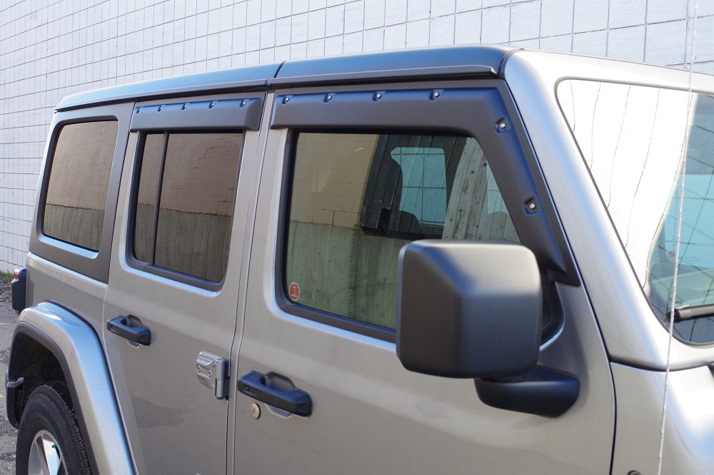 Tough Guard Rain Guards - Window Visors - Tough Visors