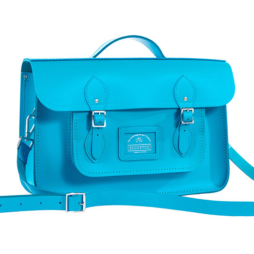 Cambridge Satchel (lagoon blue)