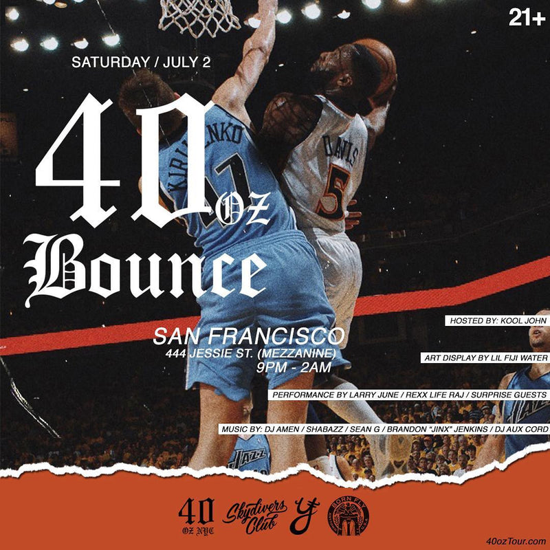 40oz Bounce San Francisco