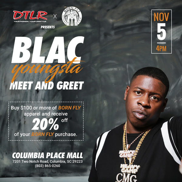 Blac Youngsta meet & greet