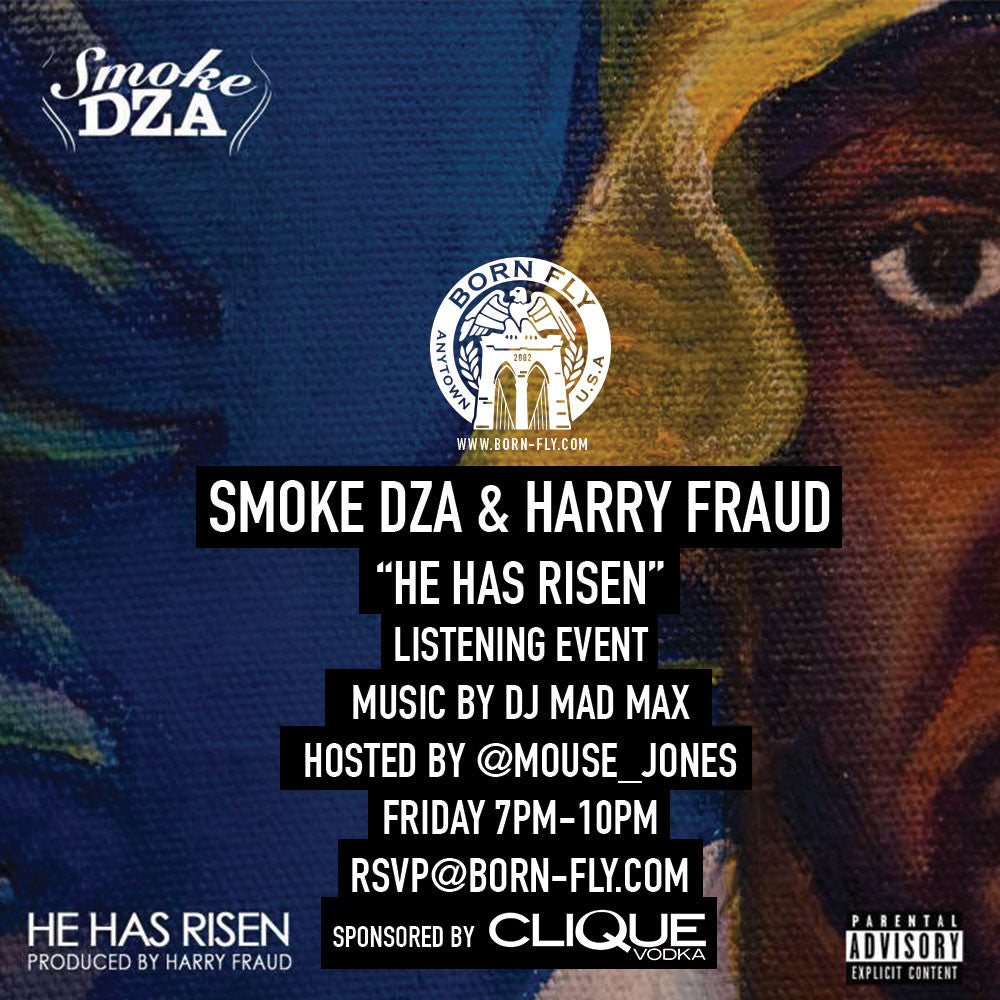 Smoke DZA & Harry Fraud - Listening Event