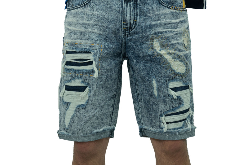 Enterprise Denim Shorts - Shorts - Born Fly