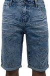 Outcast Denim Shorts - Shorts - Born Fly