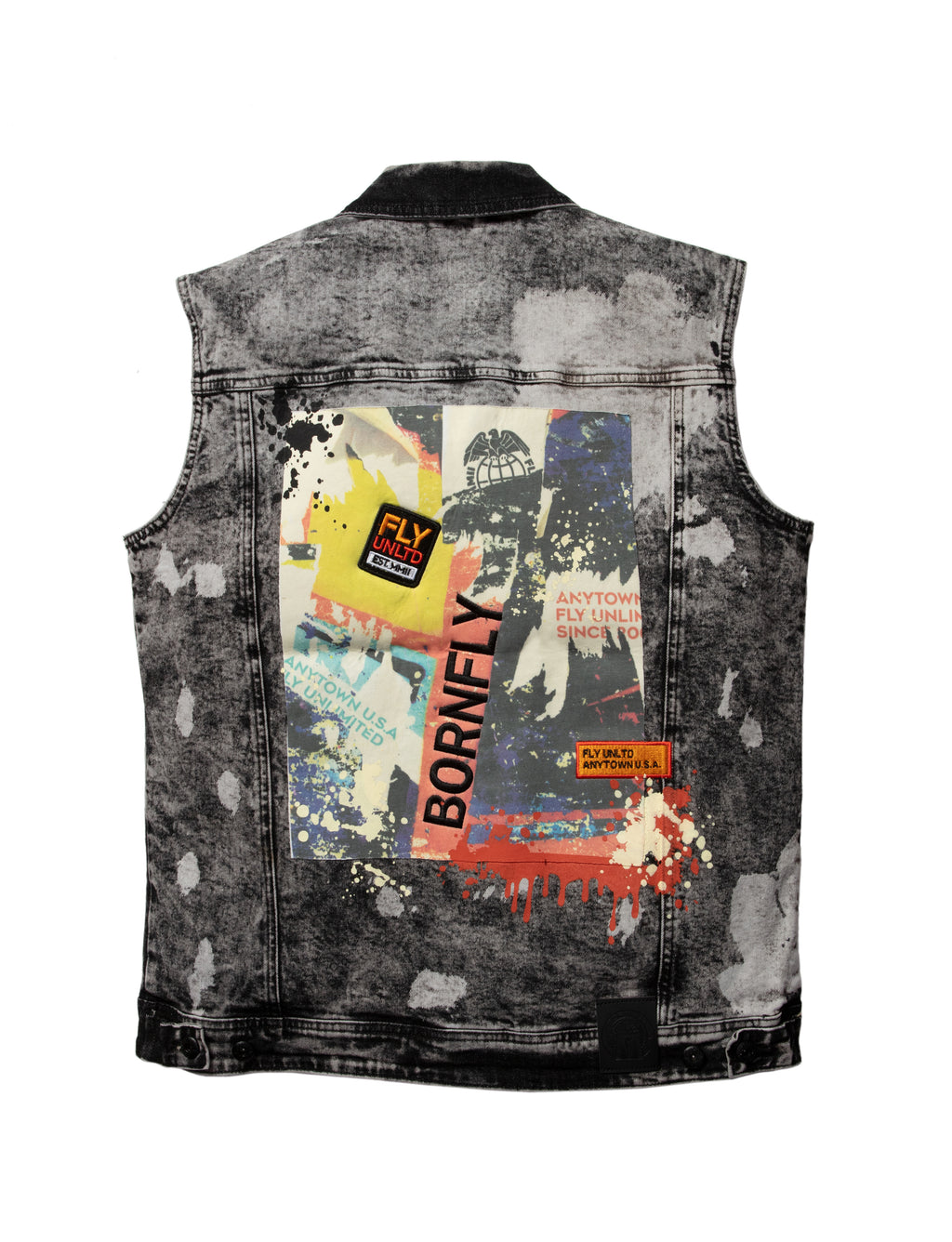 Big & Tall - Independance Denim Vest