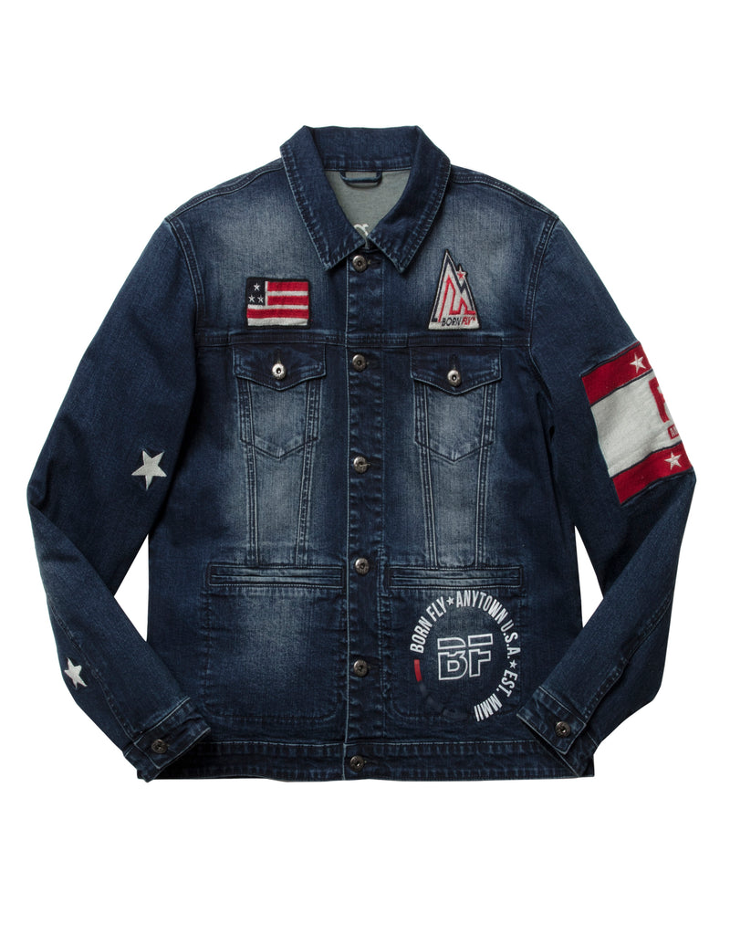 Brucey Denim Jacket