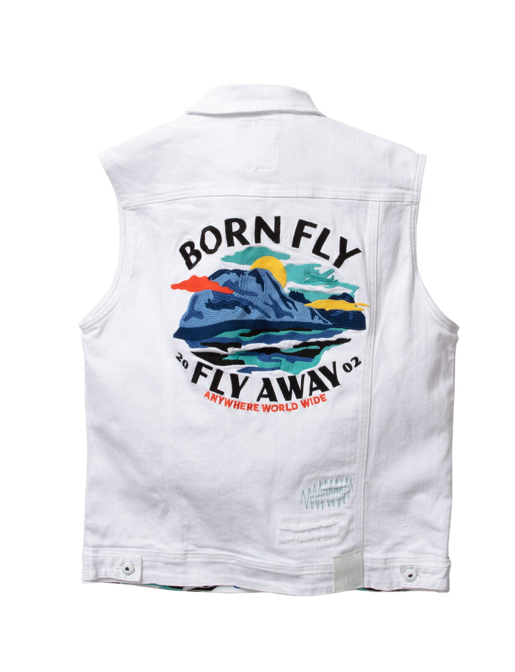 Big & Tall - Fly Denim Vest