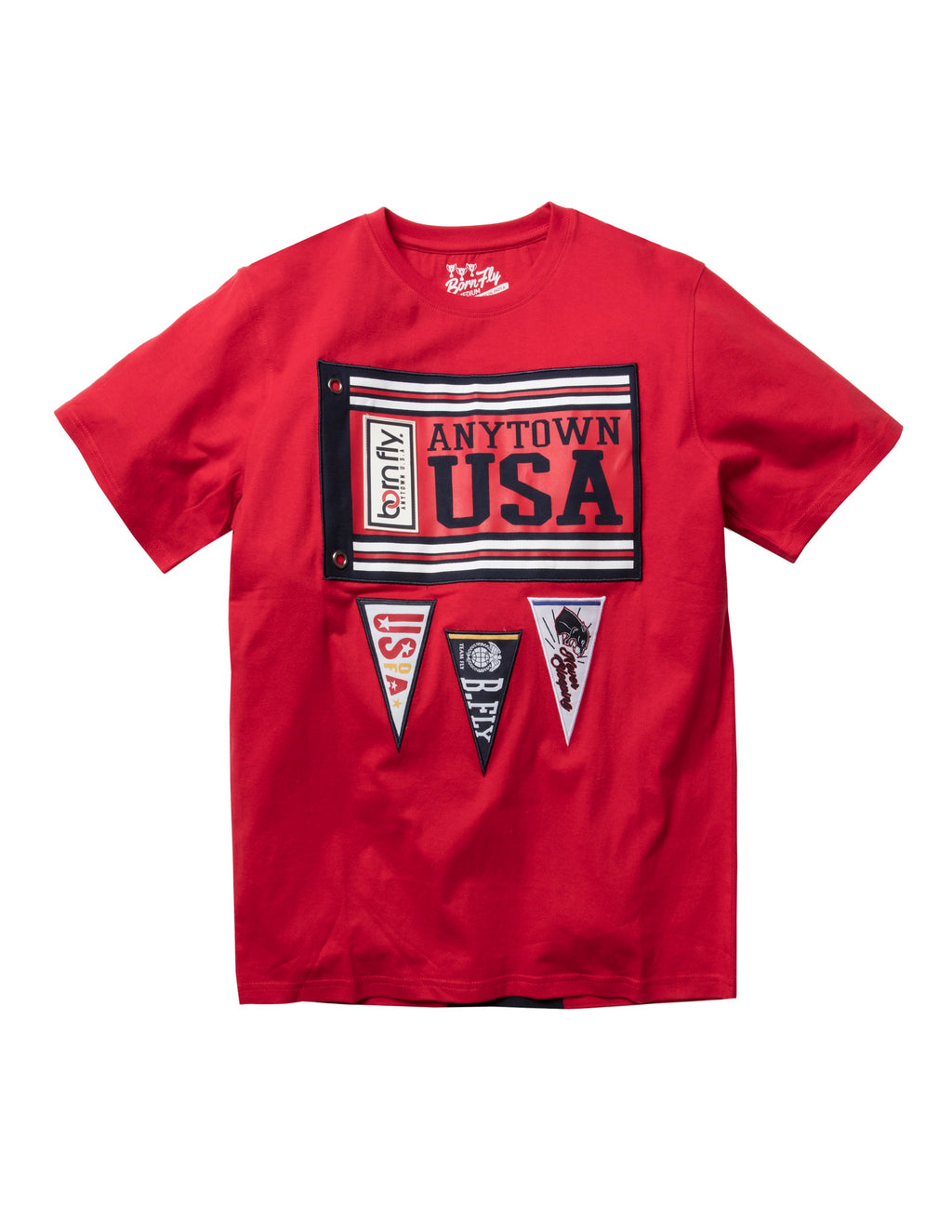 Big & Tall - Brandeis Tee Red
