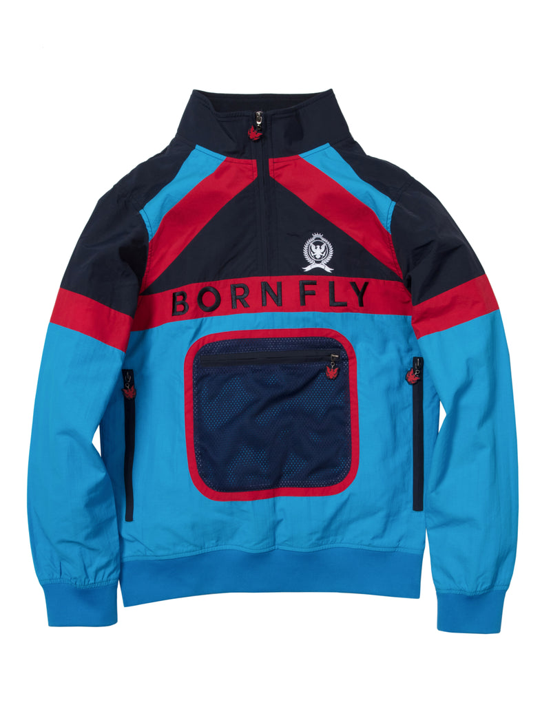 Cornrows Pullover Track Jacket