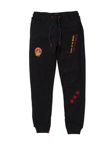 Big & Tall - Black Gunn Velour Pants