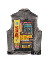 Big & Tall Exchange Denim Vest