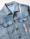 Ice Cream Truck Denim Vest