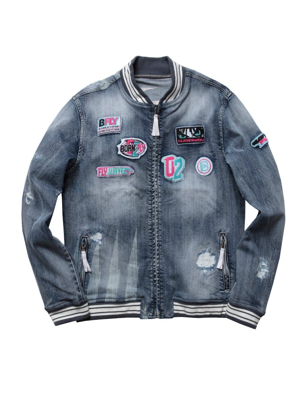 Big & Tall - Pok Denim Jacket